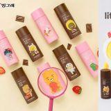 CU便利商店推出「Kakao Friends」包装牛奶瓶!又是很可以收集的一系列!
