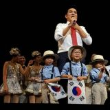 三胞胎大韓民國萬歲近況公開 暴風成長啦啦隊
