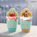 韓國連鎖甜點咖啡店YOGER PRESSO:推出聖誕限定馬卡龍特飲!