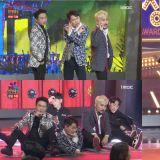 《MBC演艺大赏》梁世炯、柳炳宰、朴圣光Cover防弹《idol》舞台!最后三人互相搀扶下舞台XD