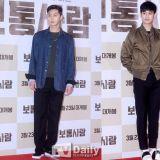 大咖來襲!金秀賢&朴敘俊出席張赫新戲《普通人》VIP首映會
