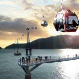 【旅游推荐】夏天就是要去釜山2,松岛海上的透明缆车