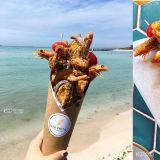送給吃貨女友的禮物苞選:來濟州島吃一束炸物花吧!