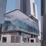 超炫酷藝術墻!SMTOWN Artium最新「公共藝術」:波浪翻湧似巨大水箱