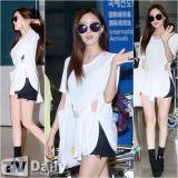 T-ara低調回國現身機場 Summer Look魅力各異