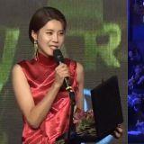 因为下一组艺人尚未到场…张度妍自己说了3分钟的得奖感言!连李政宰都「笑哭」