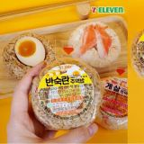 韓國7-11推出新飯糰!沒有了紫菜包著,但多了半熟雞蛋在裡面!