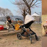 老公愛的視角!崔智友曬與女兒、狗狗合照,網友:「看到照片我也覺得好幸福」