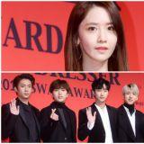 【OUTFIT】潤娥&B1A4等眾星出席Korea Best Dresser Swan Awards頒獎禮