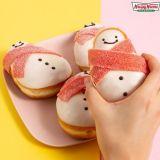 这个冬天游韩必吃!韩国甜甜圈王牌Krispy Kreme圣诞系列甜甜圈~