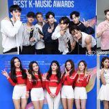 第一屆Soribada Awards獲獎名單! Wanna One第一個新人獎,EXO仍是最大贏家!