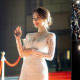 姐姐真的太美了!《触及真心》公开刘寅娜晚礼服走红毯大展女神姿态