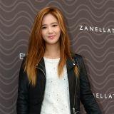 少女時代Yuri黃髮助陣時尚活動