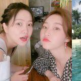 金賽綸、Red Velvet Yeri共遊巴厘島!賽綸越來越性感成熟啦~