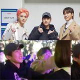 前辈们去看NCT 127演唱会!瑜卤允浩热情应援:「快点出来!」 坐在一旁的XIUMIN不禁有些害羞