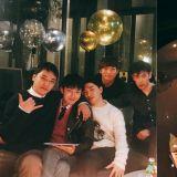GD、太陽入伍倒數,BIGBANG聚會合照曝光!蛋糕上面還寫著「BIGBANG Forever」!