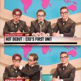 Breaking News:Chen&伯賢&Xiumin組EXO小分隊