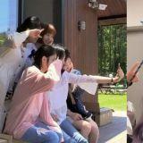 真的超暖心!时隔2年...这份友谊也继续延续,IU再次邀请《孝利家民宿》的金海姐妹看演唱会!