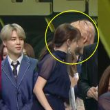 《MBC歌謠大祭典》BTS防彈少年團JIMIN & V告訴少時潤娥:SEVENTEEN Joshua也是95line「豬仔」