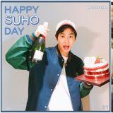 EXO SUHO官網留言答謝粉絲的生日祝福