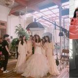 After School前成员正雅昨日举行婚礼,NANA、Lizzy、Raina等成员齐聚送上祝福!