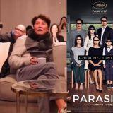 电影《寄生上流》荣获奥斯卡6项提名,男主宋康昊看直播跟著兴奋大叫!