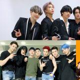 【男团品牌评价】防弹少年团评价指数上升 师兄弟 EXO、NCT 分占二、三名