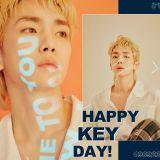 祝 SHINee Key 生日快樂!粉絲以其名義行善祝賀