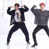 BTS防弹少年团新歌练习室舞蹈版公开后,大家却都在讨论「JIMIN的腿」?