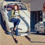 金喜善拍攝服飾品牌春季畫報 完美身材像20代少女
