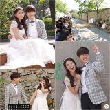 《我们结婚了》Eric Nam&Solar 举办街头浪漫婚礼