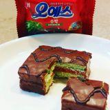 韩国夏日必buy消暑「西瓜巧克力夹心蛋糕」!