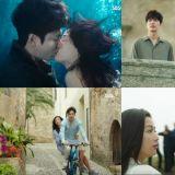 《藍色大海的傳說》第2集收視率最高瞬間18.8% 唯美的水中KISS