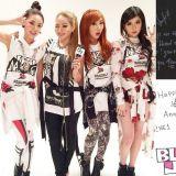 2NE1出道10周年!4位成员上传手写信、旧照感谢粉丝的守护,粉丝:「等你们合体!」