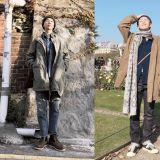 金daily又上線了!防彈少年團RM的秋冬男友裝範本get到了嗎?
