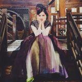 少女时代徐玄公开《步步惊心:丽》拍摄照 散发典雅气质