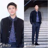 LV的男人 EXO世勳出席品牌特別展