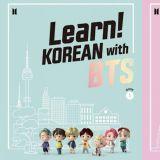 和BTS防彈少年團一起學韓文!BIG HIT推出海外韓語教育專案,還可以購買圖書!
