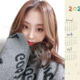 超可愛又暖!Lovelyz智秀親手畫2020年月曆送給粉絲❤