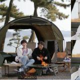 【有片】《Spring Camp》安宰賢靠在「前輩」殷志源的肩上求安慰!殷志源:「什麼前輩,你這個瘋子」