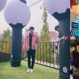 【ARMY必訪景點】太萌啦~!BTS防彈少年團成員與Q版的團員公仔合照