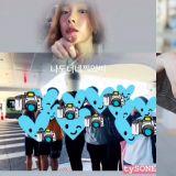 超可爱!太妍在机场看到粉丝拍她,她也拿起手机反拍:「我也拍了你们了!」