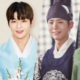 姜丹尼尔被评为中秋节最适合韩服的艺人第一,朴宝剑第二