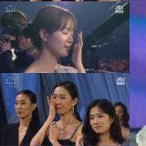 「百想」金惠子奪大賞朗誦《耀眼》最後一段台詞!讓韓志旼、金惠秀、廉晶雅等人都落淚了!