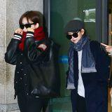 T-ara結束《最強大腦》錄製返韓 低調亮相機場