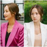 《她的私生活》成管理員的OL套裝魅力    你喜歡哪個顏色的朴敏英?