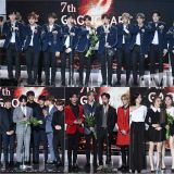 7th Gaon Chart獲獎名單新鮮出爐:IU斬獲五項大獎,BTS、Wanna One等成績不俗!
