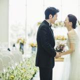 柳秀荣朴河宣大婚幸福满溢 新娘娇羞