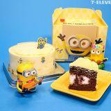 韩国7-11推出『小小兵香蕉巧克力蛋糕』