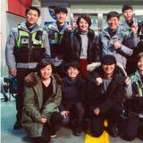 《Live》舉辦開機儀式  李光洙&鄭有美穿上警服很帥氣